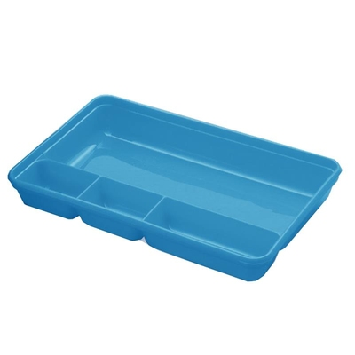 Compartment Tray Blue