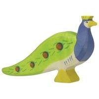 Holztiger Peacock