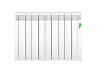 D Series White 9 elements Electric Radiator