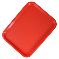 Fast Food Tray Red 460mm x 360mm