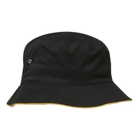 Brushed Twill Sports Bucket Hat