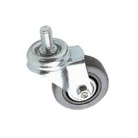 Euromet 02018 | Wheel, rubber, ø 50 mm thread M10x20