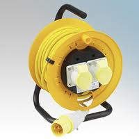 CABLE REEL 25 METRES 3X1.5 YELLOW 110V 16A(4510093)