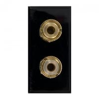 Triax Twin Loudspeaker Insert Black (304281)