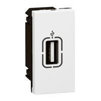Arteor USB Socket - White    LV0501.2255
