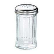 Flour / Sugar Shaker Glass S/S Top 12oz