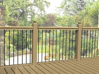 Linear Deck Panel 280x770mmH (Pack 4) Polyester Black on Hot Dip Galv
