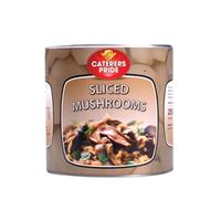 Tin Sliced Mushroom Caterers Pride (6x3kg)