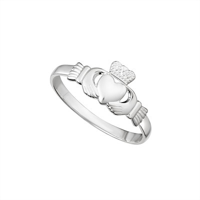 SILVER STANDARD CLADDAGH RING