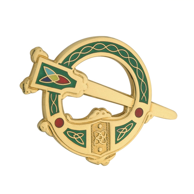 GP GREEN TARA BROOCH(BOXED)