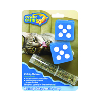 Cosmic Catnip Dispensing Dice Cat Toy x 6