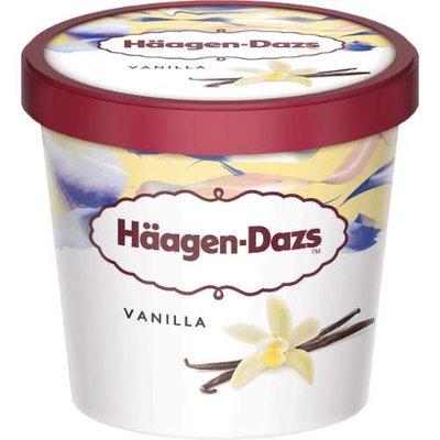 Ice Cream Vanilla-Haagen Dazs-(8x500ml)
