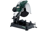 METABO CS23-355 110V METAL CHOP SAW C/W BLADERated input power S1 100%: 1,200 WRated input power S6 20%: 1,500 WIdle revolution: 5,000 /minRevolutions at rated load: 3,750 /minCable length: 2 mWeight: 13.5 kgTotal Shipping Weight: 20k