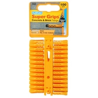 PLASPLUG YELLOW SUPERGRIP FIXINGS
