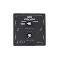 Cloud RSL-6B   Remote Source / Volume Level Select Plate in Black