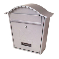 Sterling Classic Post Box Silver