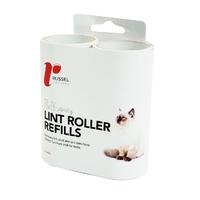 Russel Lint Pick-up Roller Refill 2pk
