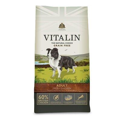 Vitalin Adult Grain Free 60% Fresh Chicken 12kg