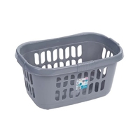 Casa Hipster Laundry Basket Silver