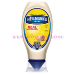 Hellmans Real Squeezy Mayonnaise 430ml x8