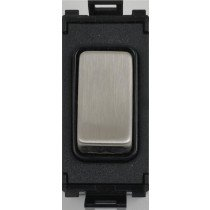 Flatplate Grid Black Nickel 2way Retractable switch black|LV0701.1050
