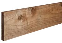 3m Gravel Board 200x22mm Brown