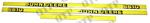 Kit d'autocollants John Deere 6610