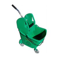 36L Big Mouth Mop Bucket and Wringer