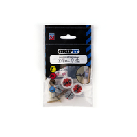 GRIPIT 18mm Red GRIPIT Pack of 4