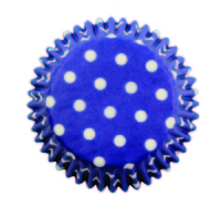 BC733 BLUE POLKA DOTS STD CUPS 60PK