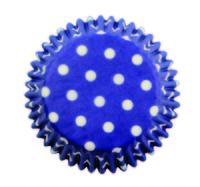 BC733 BLUE POLKA DOTS STD CUPS 60PK