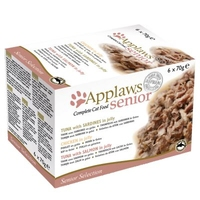 Applaws Senior Cat Multipack Cans 70g 6-Pack x 1