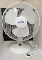 "12"" Oscillating Desktop Fan"