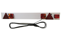 Bulb  Trailer Board with Fog Light