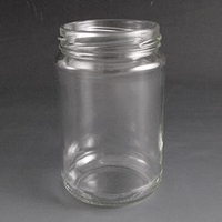 290ml Round glass jar