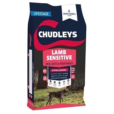 Chudleys Lamb & Vegetables Sensitive Dog Food 15kg
