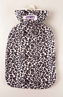 Jungle Covered 2 Litre Hot Water Bottle Jaguar