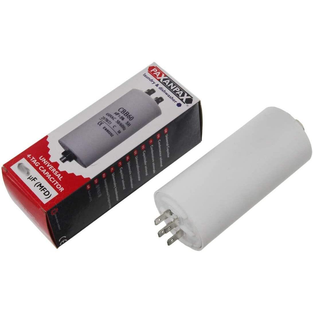 Universal Capacitor (4uF / 4MFD, 450VAC)