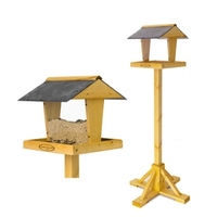 Johnston & Jeff Riley Slate Bird Table on Stand x 1