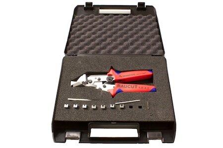 Raucut I kit in plastic case