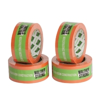 Walther Strong Cleanroom Construction Tape Orange 50mm x 30m