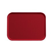 Fast Food Tray Red 355mm x 255mm