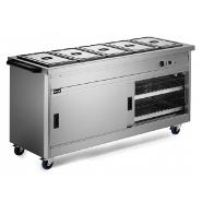 Lincat P6B5 Hot Cupboard Static with Bain Marie
