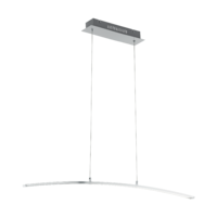 EGLO Flagranera Satin Chrome 19w LED Pendant | LV1902.0090