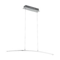 EGLO Flagranera Satin Chrome 19w LED Pendant | LV1902.0090