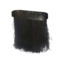 Oblong Fireside Hearth Brush Refill for Companion Set