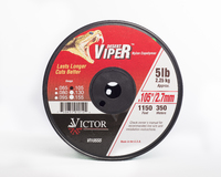 Viper Nylon Line 5lb  2.7mm