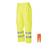 FLEXOTHANE 6580 PU Hi-Visibility Waterproof Trousers Yellow or Orange