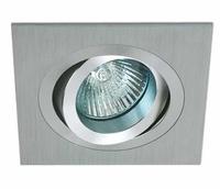 ONE Light Aluminium Square Adjustable Downlight