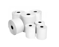 Thermal Paper Roll    White 57 x 40 x 12.7mm 50 Roll Box